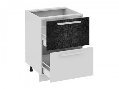 Шкаф напольный с 2 ящиками Н2я_72-60_2Я Фэнтези Лайнс
