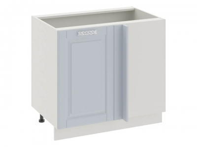 Шкаф напольный с планками для формирования угла Н_72-90_1ДРпУ Скай Голубая