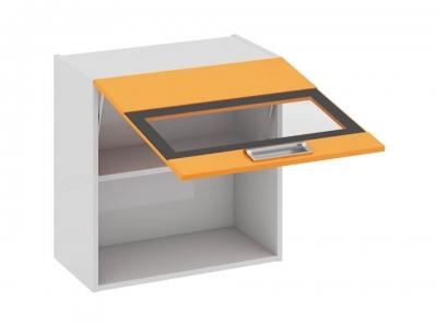 Шкаф навесной со стеклом В_60-60_1ДОс Бьюти Оранж