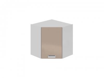 Шкаф навесной угловой 45 правый ВУ45_60-(40)_1ДР(Б) Бьюти Капучино