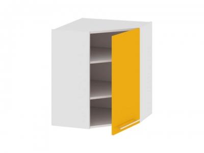 Шкаф навесной угловой 45 ВУ45_72-(40)_1ДР Ассорти Лимон