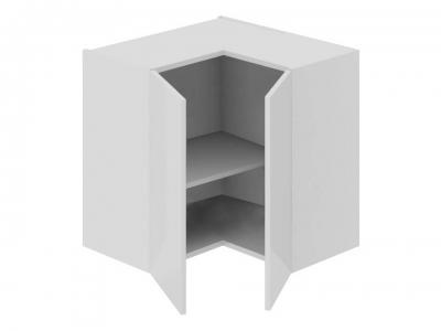 Шкаф навесной угловой 90 ВУ90_60_2ДР(ВУ) Фэнтези Белый универс