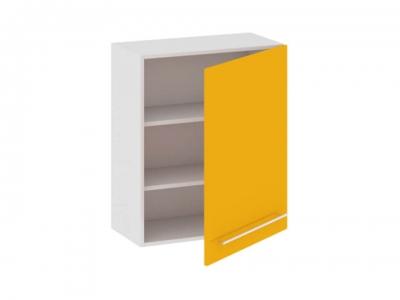 Шкаф навесной В_72-60_1ДР Ассорти Лимон