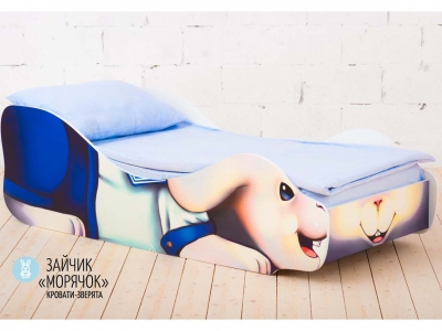 Детская кровать Заяц - Морячок