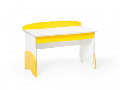 Детский растущий стол u-nix желтый