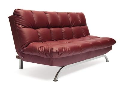 Диван-кровать Amerillo кож.зам Бордо (36-7)