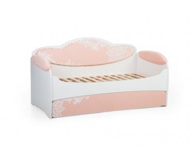 Диван-кровать Mia Персик с ящиком