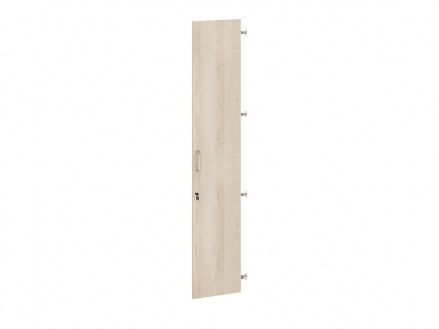 Дверь ЛДСП 5 секций с замком правая 64.66 Альфа 370х1970