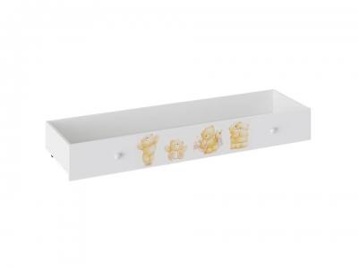 Ящик для кровати Тедди ТД-294.12.13 Белый с рисунком