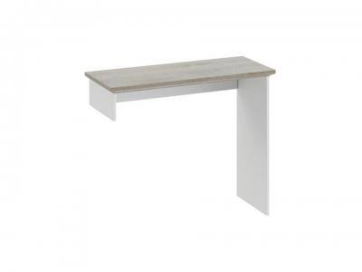 Элемент туалетного стола Ривьера ТД-241.05.01 Дуб Бонифацио, Белый