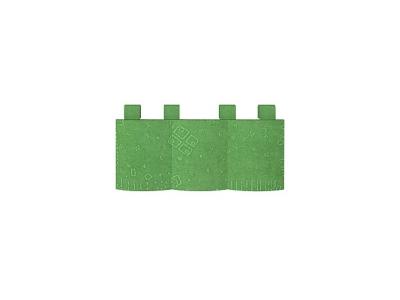 Карман 1 Калейдоскоп 530х220 флок зеленый
