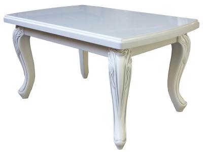 Кофейный стол Венто белые цветы