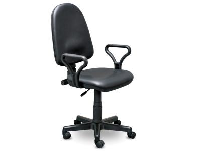 Компьютерное кресло Престиж самба кожзам черный