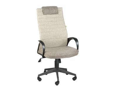 Компьютерное кресло Квест Home коричнево-серое