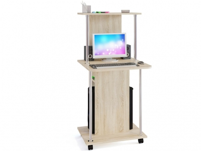 Компьютерный стол Сокол КСТ-12 Дуб Сонома