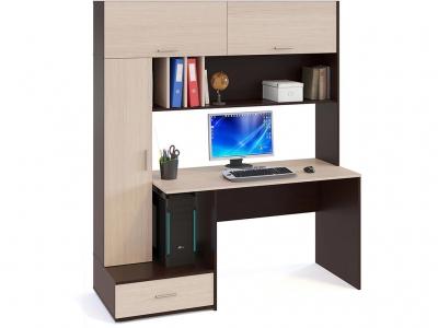 Компьютерный стол Сокол КСТ-17 Венге/Беленый дуб