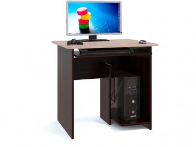 Компьютерный стол Сокол КСТ-21.1 Венге/Беленый дуб