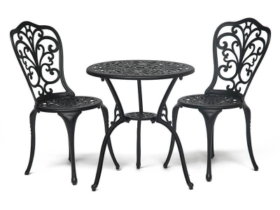 Комплект Secret De Maison Romance (стол +2 стула) Черный
