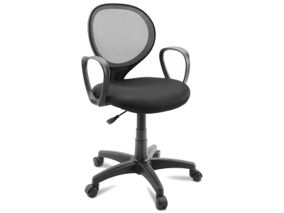 Компьютерное кресло Dikline KD30-12 ткань серая/черная
