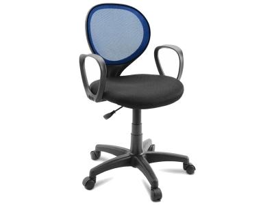 Компьютерное кресло Dikline KD30-13 ткань синяя/черная