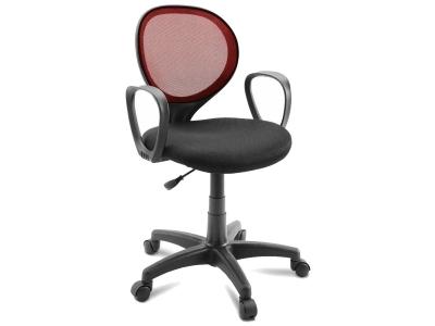 Компьютерное кресло Dikline KD30-16 ткань бордо/черная