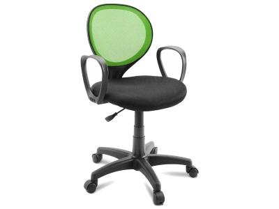 Компьютерное кресло Dikline KD30-17 ткань зеленая/черная