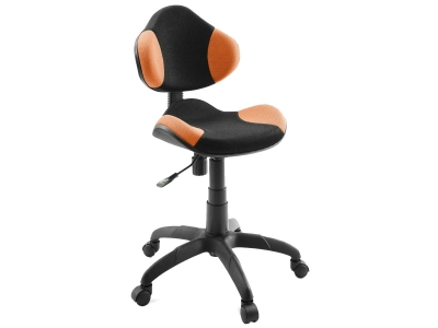 Компьютерное кресло Dikline KD32-14 сетка оранжевая/черная