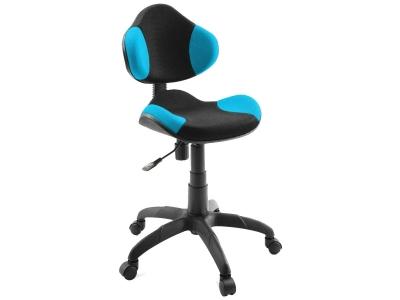 Компьютерное кресло Dikline KD32-18 сетка голубая/черная