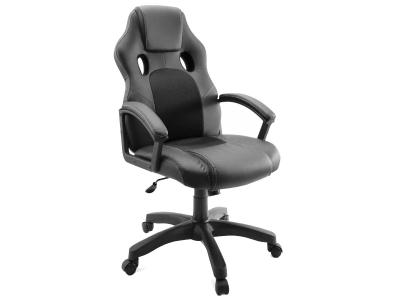 Компьютерное кресло Dikline KD34-11 к/з черный/черный