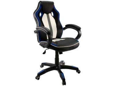 Компьютерное кресло Dikline KD35-13 (синяя вставка)