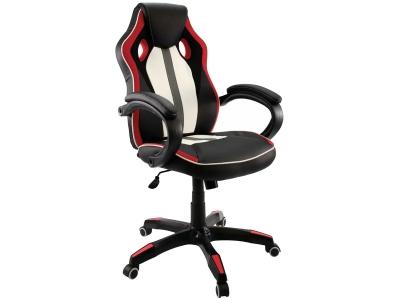 Компьютерное кресло Dikline KD35-15 (вставка красная)