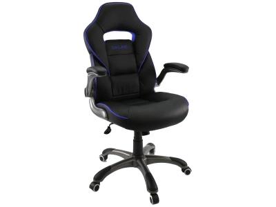 Компьютерное кресло Dikline KD36-13 (вставка синяя)
