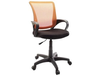 Компьютерное кресло Dikline SN13-14 сетка оранжевая/чёрная