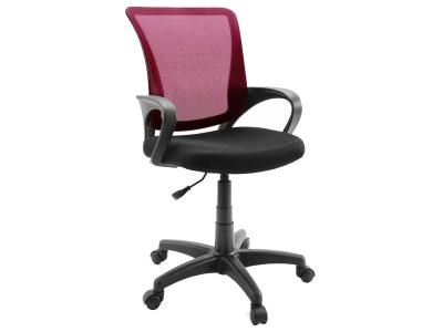 Компьютерное кресло Dikline SN13-16 сетка бордо/чёрная