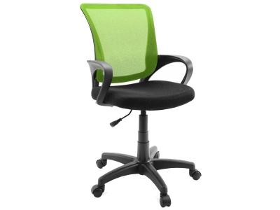 Компьютерное кресло Dikline SN13-17 сетка зеленая/чёрная