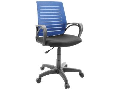 Компьютерное кресло Dikline SN14-13 сетка синяя