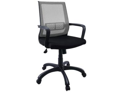 Компьютерное кресло Dikline SN15-12 сетка серая