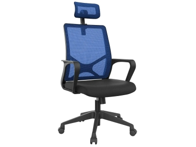 Компьютерное кресло Dikline XT83-13 сетка синяя