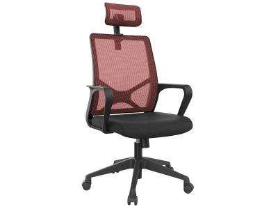 Компьютерное кресло Dikline XT83-16 сетка бордо