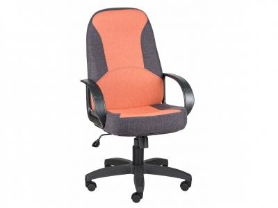 Кресло Амиго 783 Home серый-оранжевый