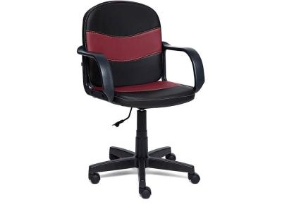 Кресло Baggi кож.зам Чёрный + Бордо (36-6/36-7)