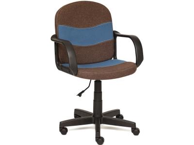 Кресло Baggi ткань Коричневый + Синий (3м7-147/с24)