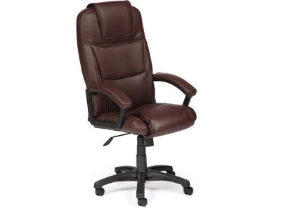 Кресло Bergamo кож.зам Коричневый (36-36)
