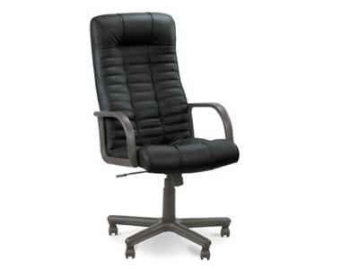 Кресло для руководителя AV 104 Атлант Ультра Черный