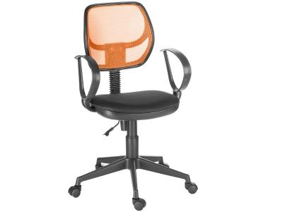 Кресло Флеш рондо оранжевый/черный