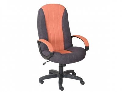 Кресло Гармония Home серый-оранжевый
