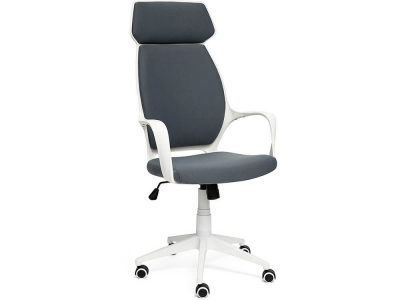 Кресло Grace ткань Белый + Тёмно-серый (60)