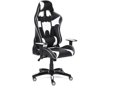 Кресло Ibat кож.зам Чёрный + Белый
