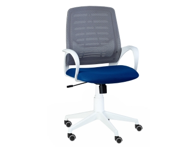 Кресло Ирис white люкс TW синий
