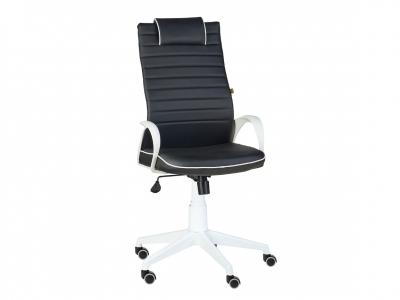 Кресло Квест ультра white черный